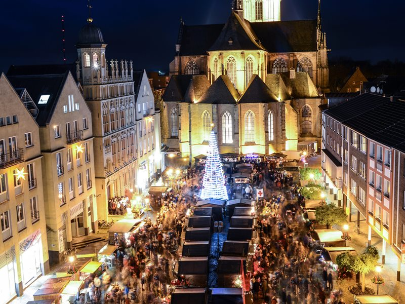 Adventmarkt am Dom Luftbild